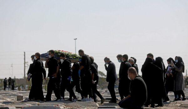 مرگ ناشی از کرونا - بهشت زهرا