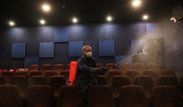 کرونا - سالن سینما