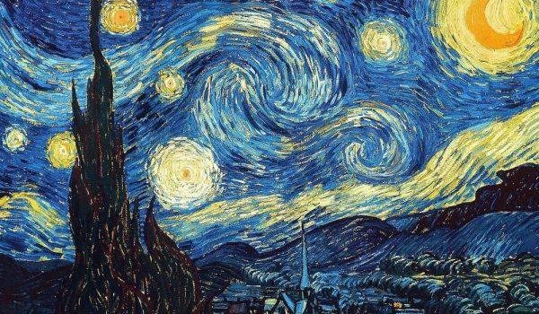 نقاشی شب پرستاره ونسان ونگوگ