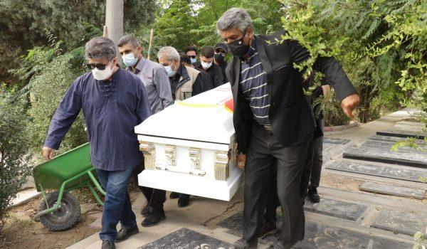 گزارش تصویری مراسم تشییع پیکر زندهیاد فرشته طائرپور