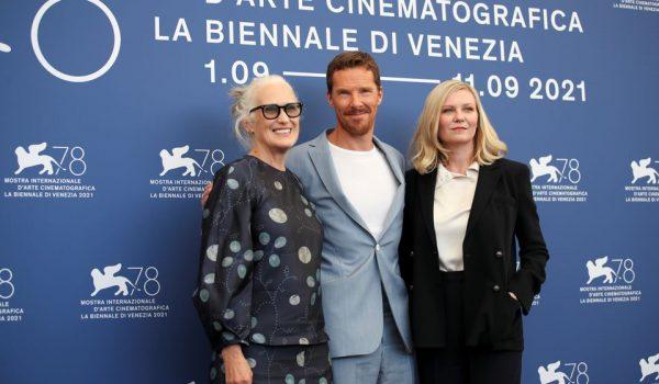 جین کمپیون در جشنواره فیلم ونیز بندیکت کامبربچ و کریستن دانست