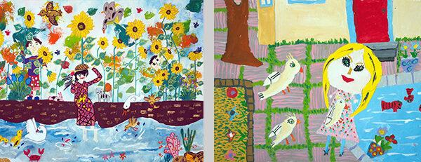 هشت کودک ایرانی در مسابقه نقاشی ژاپن برگزیده شدند